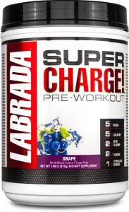 Labrada Nutrition Super Charge Pre-Workout 25 Servings