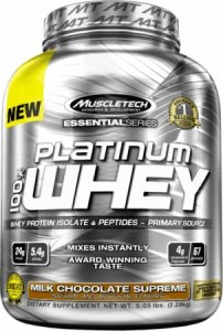 Muscltech Essential Series Platinum 100% Whey