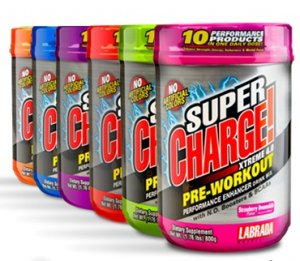 Labrada Nutrition Supercharge Xtreme 4.0 800g