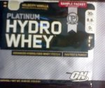 Optimum Nutrition HydroWhey Sample Packet