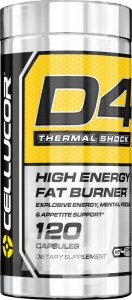 Cellucor D4 Thermo Shock 120 Caps